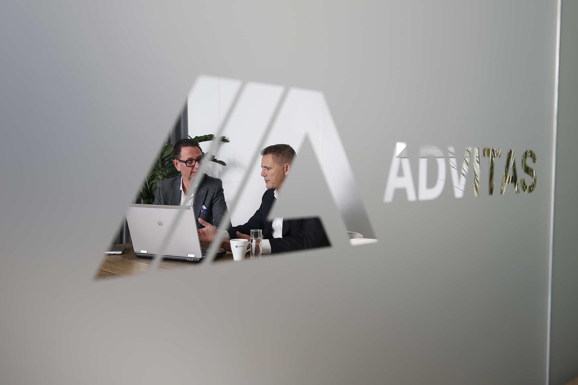 Website gemaakt voor Advitas